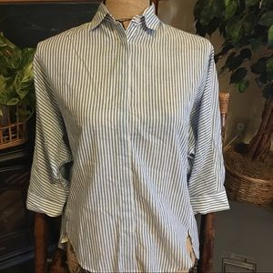 Loft Softened Women's XS Petite button-up Shirt